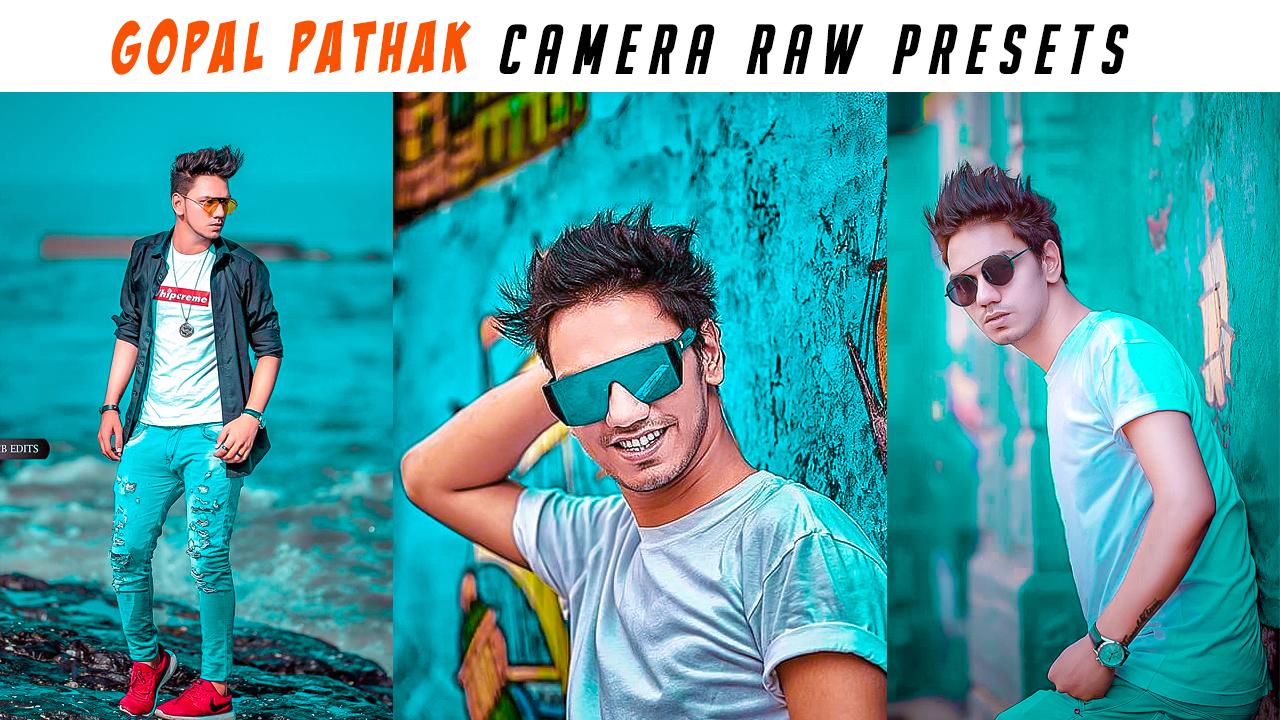 Gopal Pathak Camera Raw Photoshop Presets - Tutorial