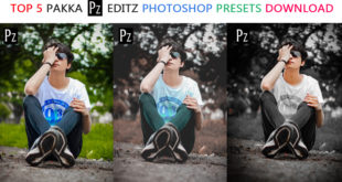 Top 5 Pakka Editz Camera Raw Presets For Photoshop