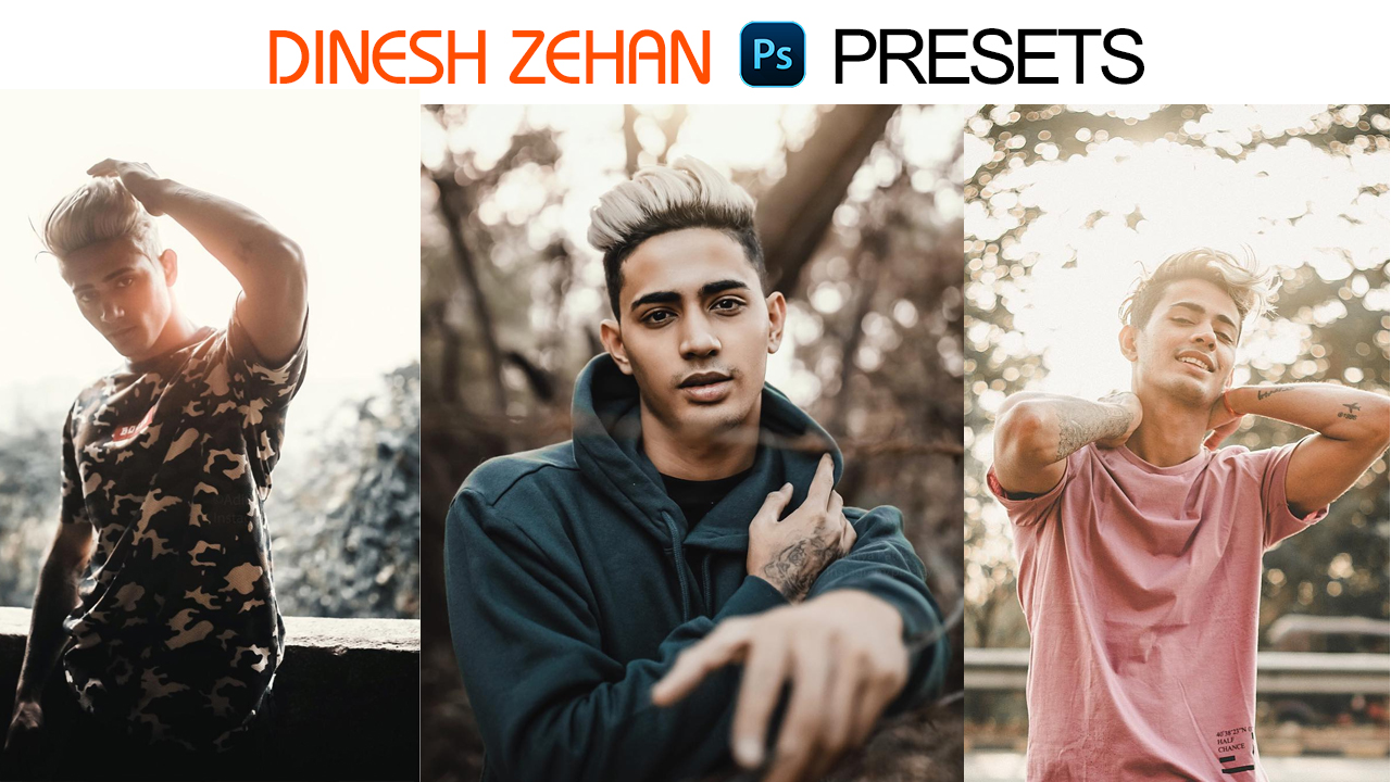 Danish Zehan Camera Raw Photoshop Presets Free Download