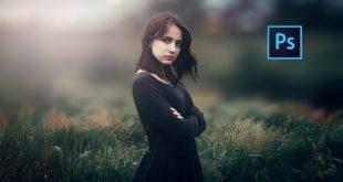 photoshop cc Tutorial Outdoor Portrait Edit (Girl)