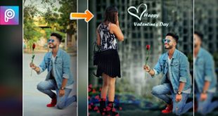 Picsart Valentine's Day Editing || Picsart Editing like Photoshop cs7 || Picsart best Editing