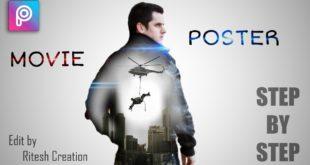 picsart movie poster editing || Mission impossible editing || Picsart best manipulation editing