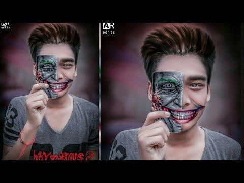 Joker Face Manipulation Easy Editing In Picsart New Creative