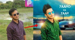PicsArt Editing tutorial background change||picsart hindi||picsart straight hair||PicsArt||