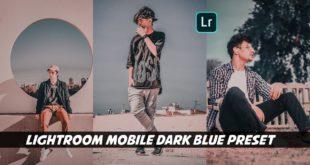 Lightroom Mobile dark Blue Preset | Stylish and Best Lightroom Preset Free Download -Ritesh creation