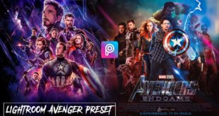 PicsArt avengers End game Editing and Marvel Studios End Game Movie Poster Editing in PicsArt