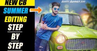 New Summer CB Editing in PicsArt || Picsart CB Editing Step by Step in Hindi || Picsart Best Editing