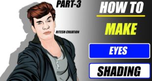 [ Part-3 ] How to Make Shading In Cloths, Eyes, Lips and Face in Infinite Design App in Vector Art